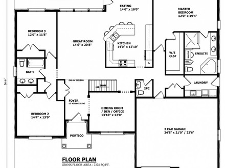 Bungalow House Plans Custom Home House Plans