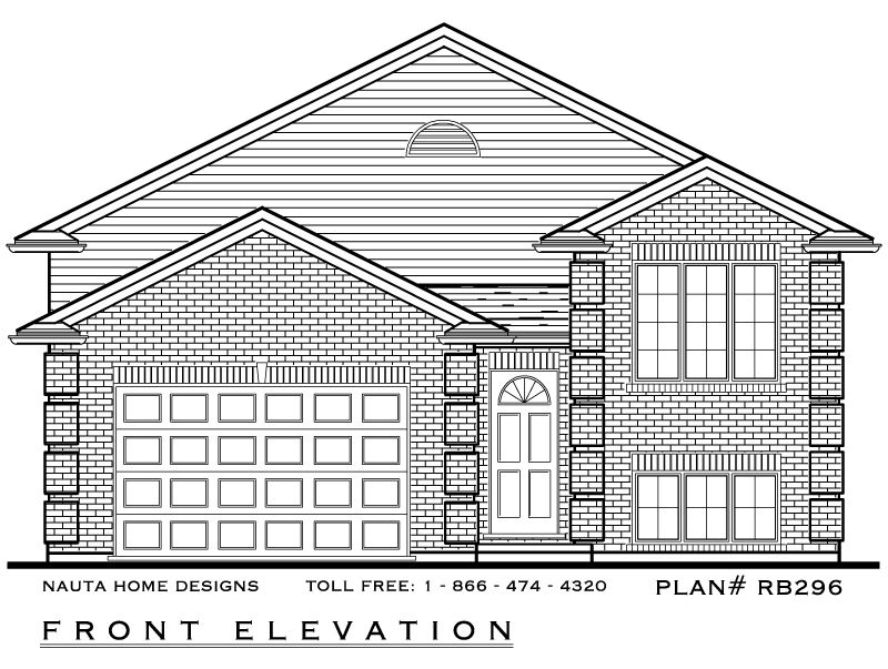 Cape Bungalow House Plans Raised Bungalow Plans House Plan