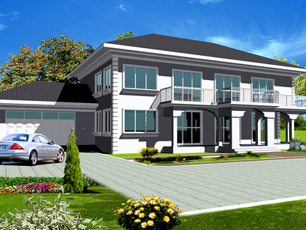 Celebrity House in Nigeria Nigeria House Plans Designs