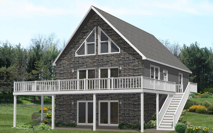 Chalet style modular homes chalet modular home floor plans for Chalet manufactured homes