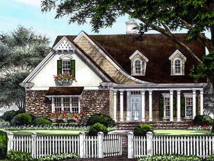 Country Cottage House Plan Craftsman Cottage House Plans One Floor