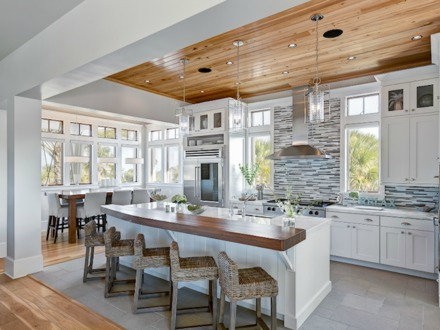 Decorative Kitchen Ceiling Ideas Kitchens with Wood Ceilings