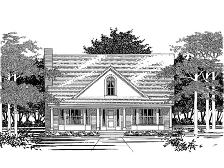 Ranch house plans with character ranch house plans with 2 for Small house plans with character