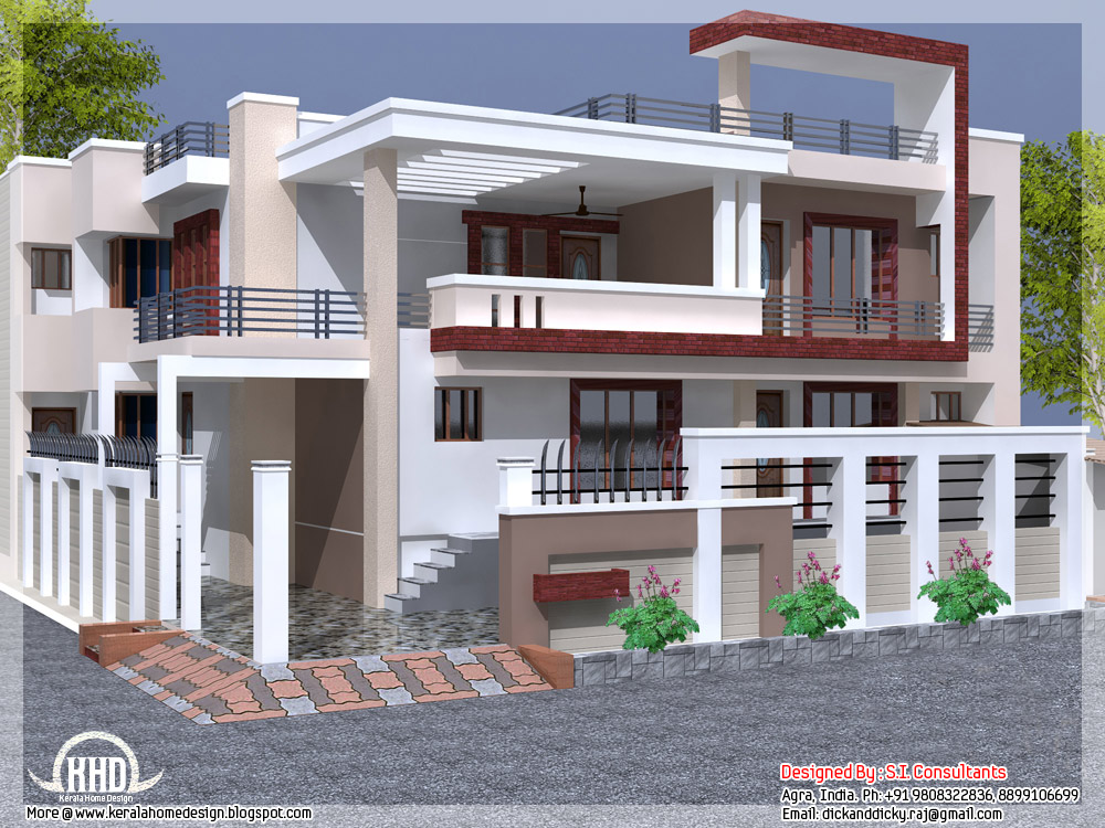 Full House Design Indian House Design Plans Free Indian