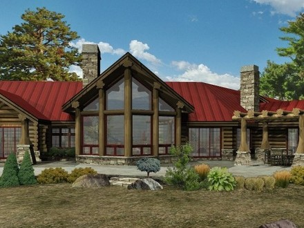 Golden Eagle Log Homes Wisconsin Log Homes Floor Plans