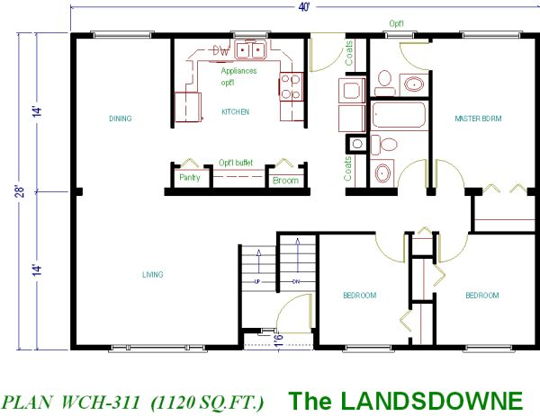 House Plans Under 1000 Sq FT Small Home Floor Plans Under 1000 Square Foot