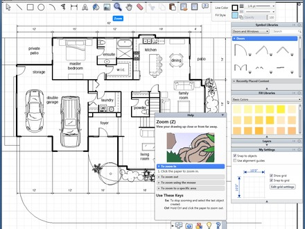 House Plans with AutoCAD Drawing AutoCAD Floor Plan Layout