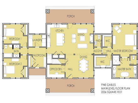 House Plans with Porches Southern Living House Plans with 2 Master Bedrooms