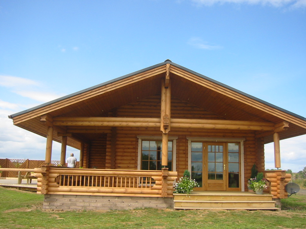 Log cabin mobile homes inexpensive modular homes log cabin for Modular homes that look like farm houses