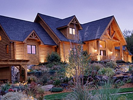 Log Home Floor Plans 2 Story Log Home Plans