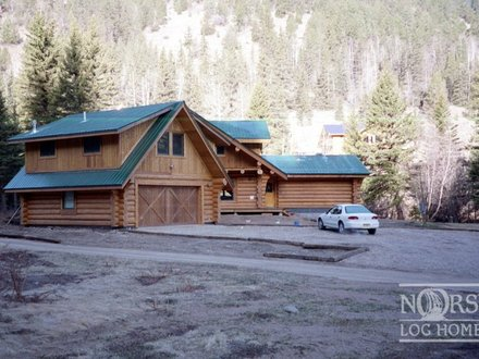 Log Home Plans with Loft Log Home Plans with Garages