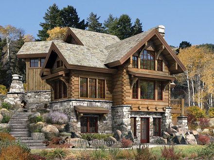 Luxury Log Cabin Homes Log Cabin Dream Home