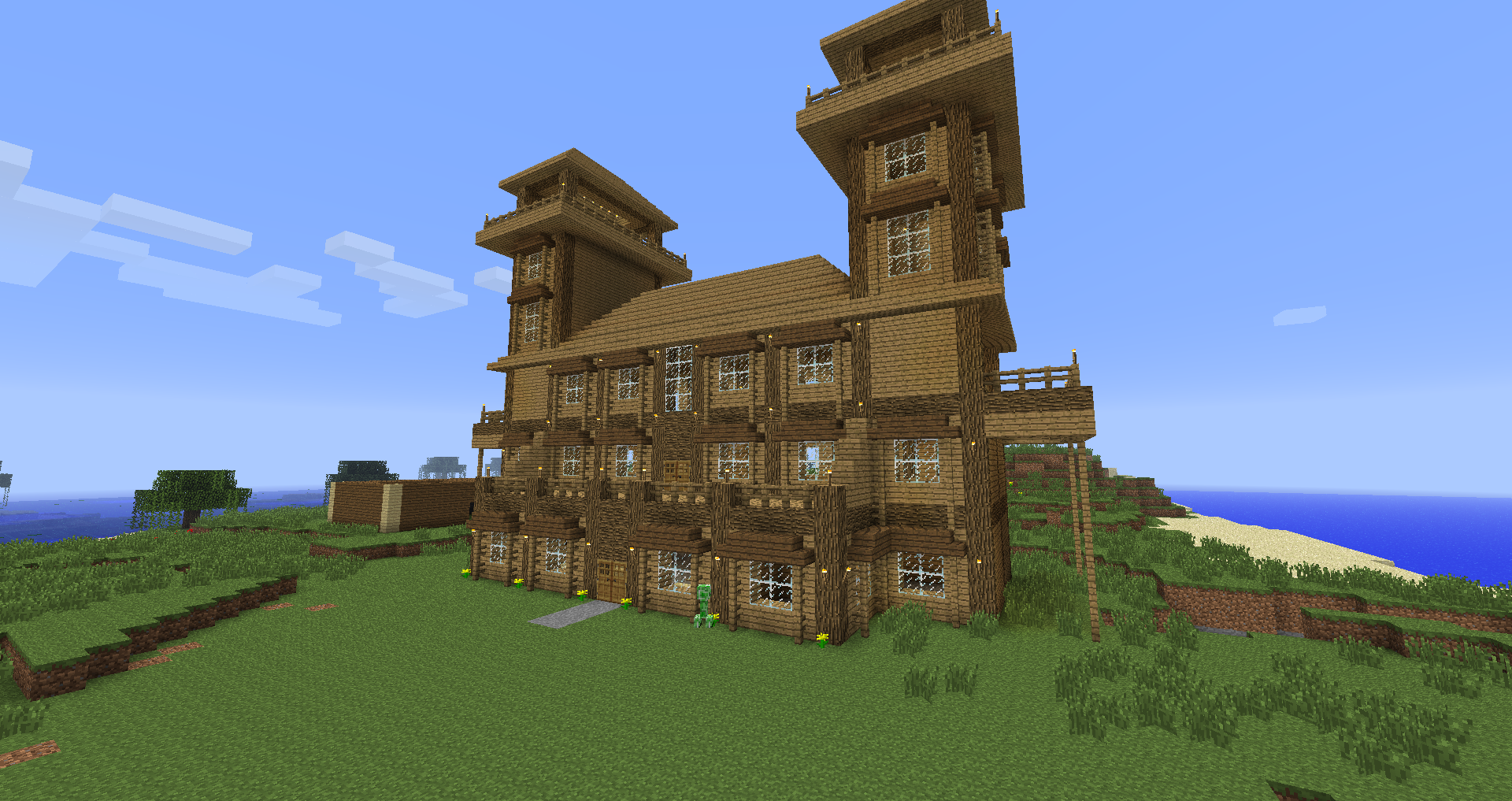 Minecraft Small Log Cabin Minecraft Log Cabin  Wood Cabin Houses