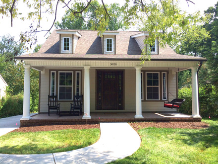 New Construction Craftsman Style Home Craftsman Style Homes with Porches