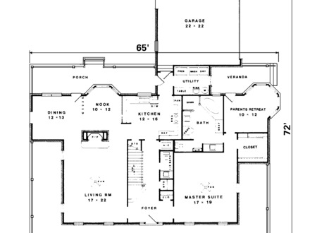 New england saltbox house plans american saltbox house for New england country homes floor plans