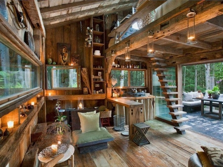 New York Off the Grid Cabin in the Woods New York Times Building