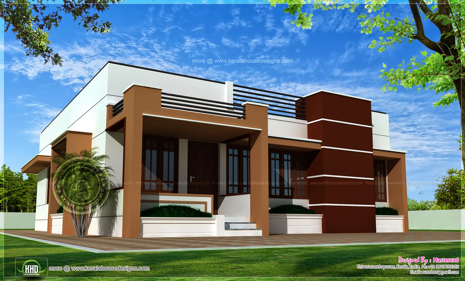 One story contemporary house modern 2 story house plans for 1 1 2 story home plans