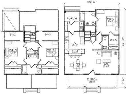 Our Two Bedroom Story Kaoru 3 Bedroom Two Story House Plans