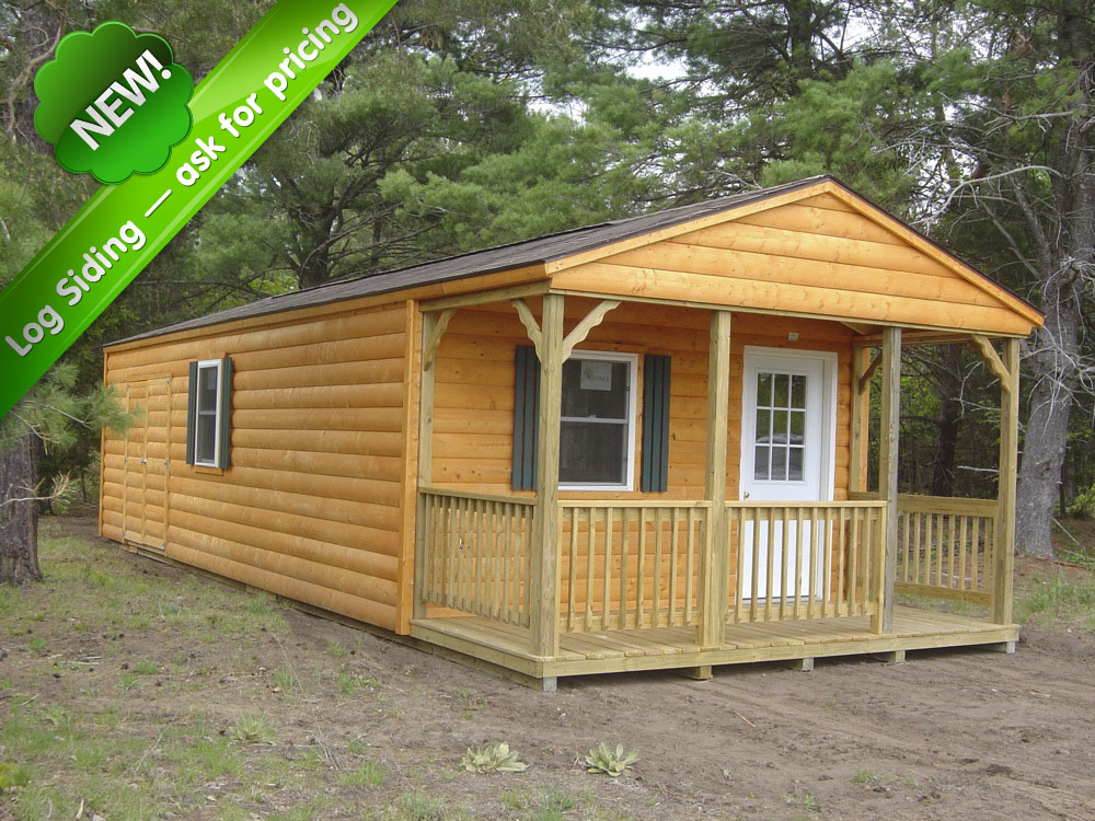 Portable Sheds and Cabins Country Cabin Storage Sheds