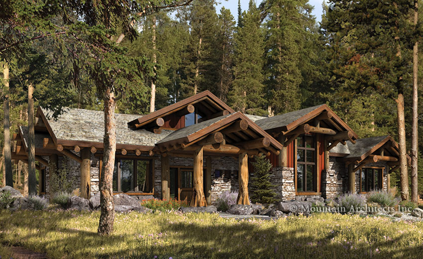 Rustic Cabin Designs Rustic Log Cabin Home Plans