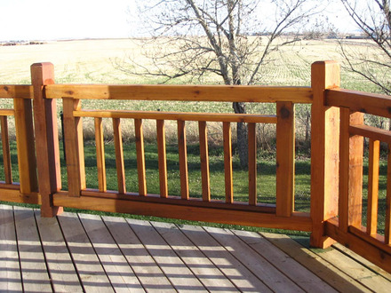 Simple Deck Railing Designs Deck Railing Designs