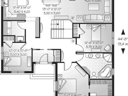Simple One Story House Floor Plans One Story House Designs