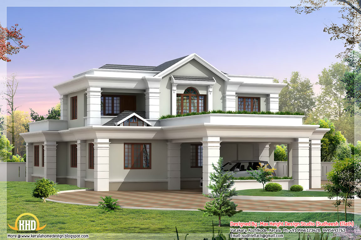 Simply elegant home designs beautiful home house design for Elegant home design