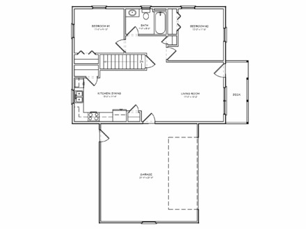 Small 2 Bedroom Floor Plans Small 2 Bedroom House Plans