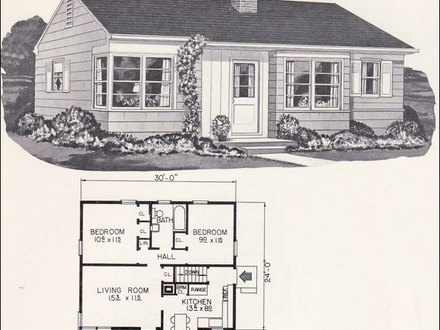 Small Cabin Plans Cottage House Tiny Home House Plans