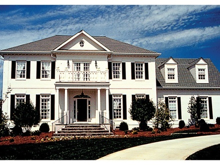 Small Colonial House Plans Federal Colonial House Plans