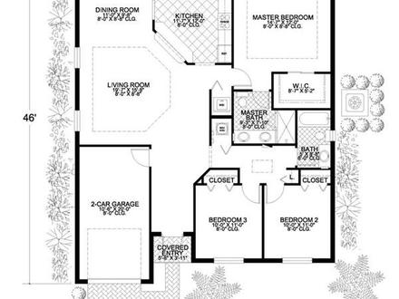 New Bungalow Floor Plans California Bungalow Floor Plans