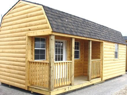 Small Hunting Cabins Log Cabin Portable Storage Buildings
