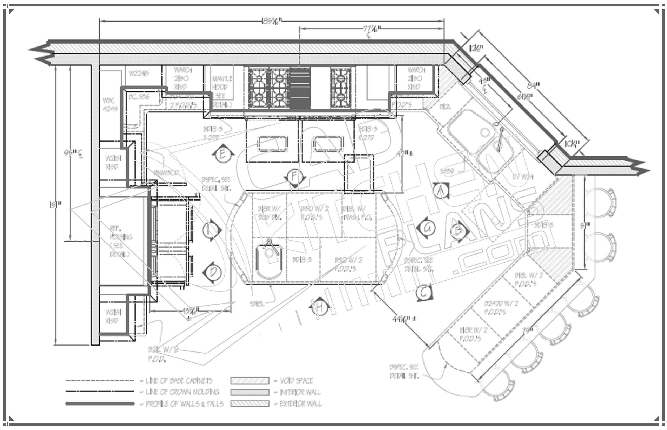Small Kitchen Layout Plans Kitchen Floor Plan Design and Layout