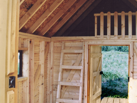 Small Log Cabin with Loft Interior Small Log Cabins 800 Sq.ft or Less