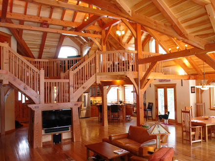 Timber Frame Kits Timber Frame Home House Plans