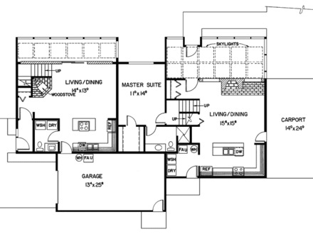 Luxury custom home plans waterfront home designs floor for Custom home floor plans with basement