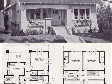 Bungalow House Plans 1920s Bungalow Floor Plans 1920
