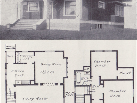 1920s bungalow floor plans bungalow floor plan bungalow for Historic craftsman house plans