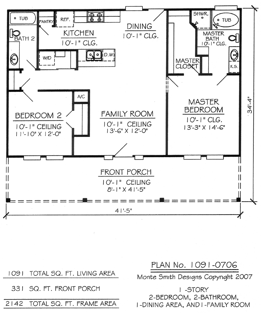 2 bedroom 1 bathroom house plans 2 bedroom 1 bath trailer 1 story house plan Rv with 2 bedrooms 2 bathrooms