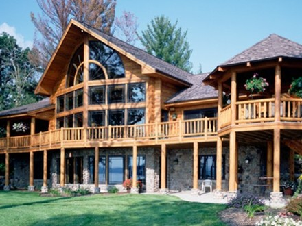 2 Story Log Home Plans Log Home Floor Plans