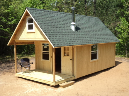 24 X 24 Cabin Plans Hunting Cabin Plans with Loft