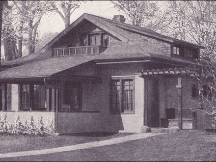 Arts and Crafts Cottage Arts and Crafts Bungalow Style Home Plans