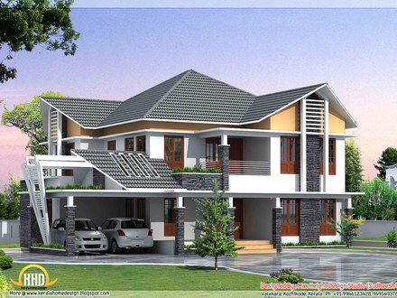 Beautiful House Elevation Modern Style House Elevations