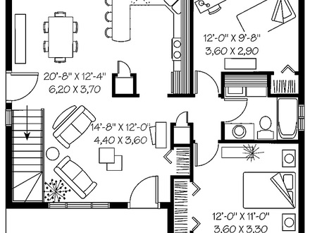 Best Two Bedroom House Plans 2 Bedroom House Simple Plan