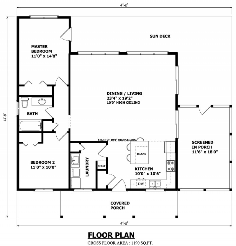 Canadian home designs floor plans home design rendering for Canadian home designs floor plans