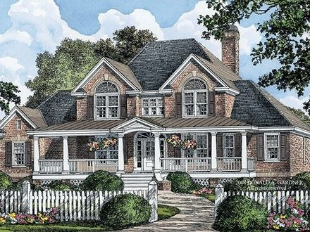 Country House Plans with Front Porch Country House Plans with Front Porch