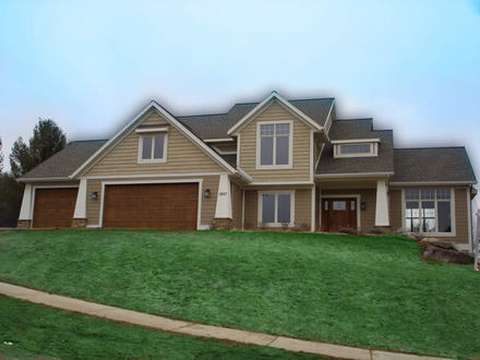 Craftsman Style Homes Floor Plans Craftsman Style Home