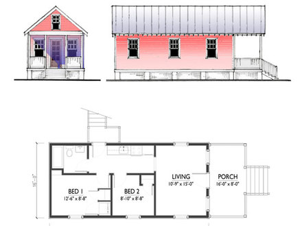 Tiny House Plans With Basement Tiny House Plans With Loft