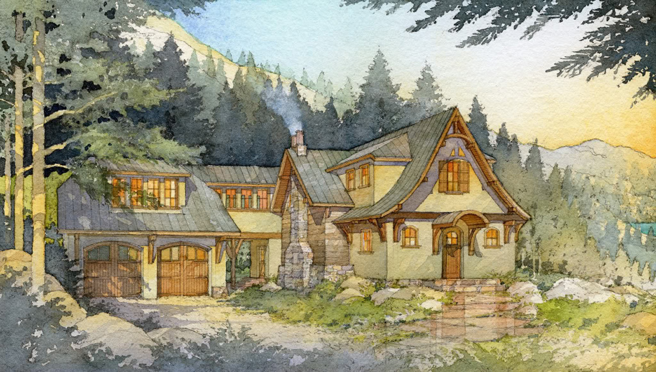Hunting Cabin Plans Mountain Cabin Plans And Designs