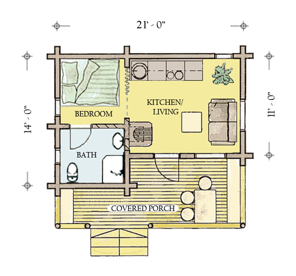 Hunting cartoons more information about hunting cabin for Fishing cabin floor plans